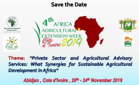 Cote d'Ivoire to host the 4th Agricultural Extension Week in Abidjan