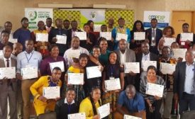 Cameroonian RAS professionals trained on the New Extensionist and Postharvest management